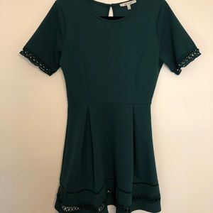 Miami forest green dress
